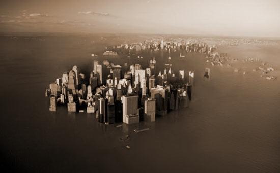 Дослідження: навіть якщо потепління припиниться, рівень моря все одно підніметься