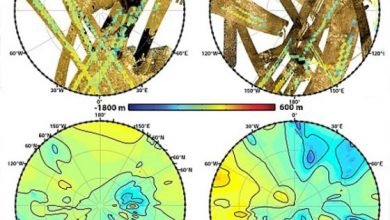 Photo of Складена перша топографічна карта Титана