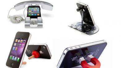 Photo of Точка опори: топ-10 найбільш незвичайних підставок для смартфонів