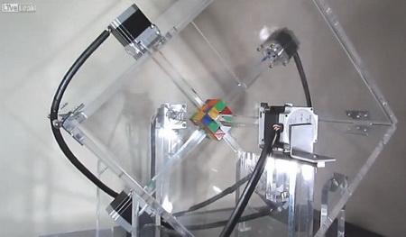 Photo of Робот збирає кубик Рубіка за кілька миттєвостей