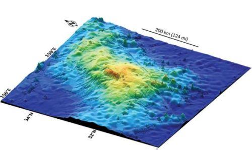 Photo of Учені виявили на дні океану біля берегів Японії найбільший вулкан на земній кулі