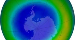 діра в озоновому шарі Землі затягується