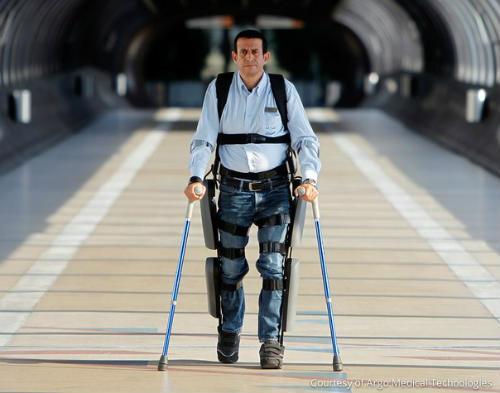 Photo of ReWalk — екзоскелет, який дозволяє ходити паралізованим людям