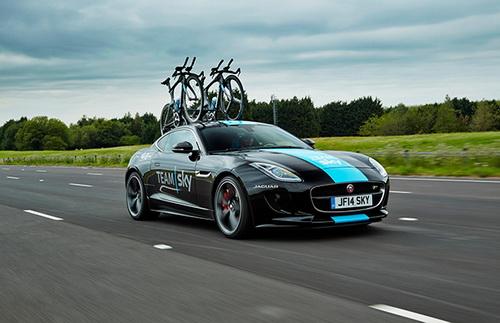 Photo of Jaguar F-Type R перетворили на веловоз