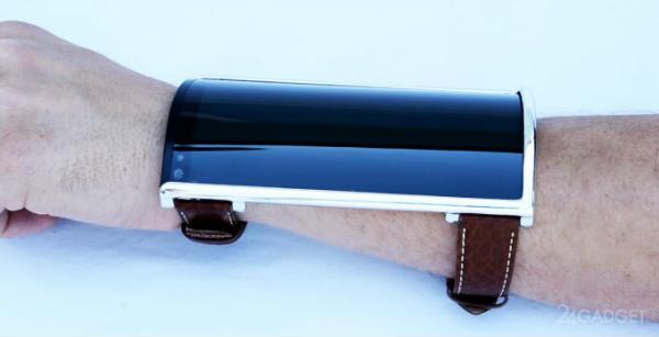 Photo of Наручний смартфон з гнучким корпусом і екраном (5 фото)