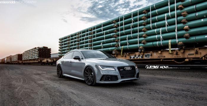 Photo of Елегантний Audi RS7 на дисках ADV1 Wheels