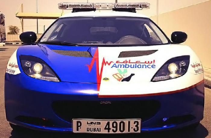 Photo of Найшвидша «швидка допомога» працює в Дубаї