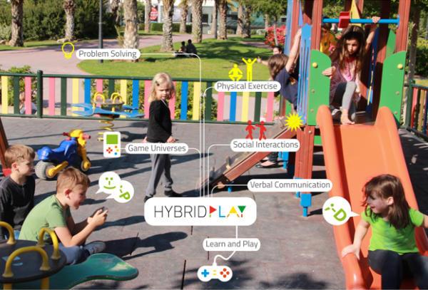 Photo of Віртуальні ігри на звичайному дитячому майданчику