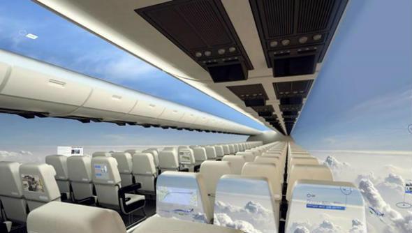 Photo of Замість вікон в літаках встановлюватимуть РК екрани
