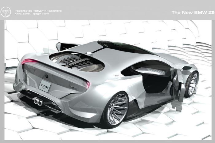 Photo of Незалежні дизайнери представили ескіз майбутнього купе BMW Z5