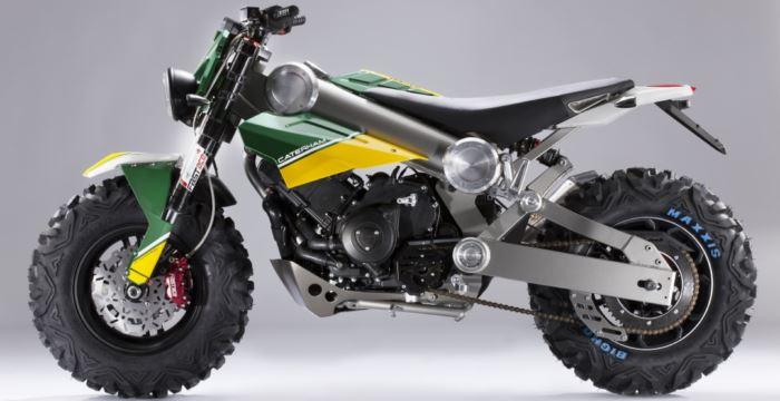 Photo of Технічні деталі нового мотоцикла Caterham Brutus 750 2014