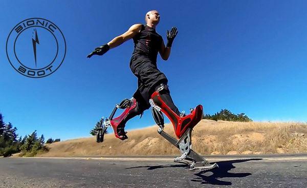 Photo of Bionic Boots — незвичайні черевики, які дозволять вам розігнатися до 40 км / год (відео)