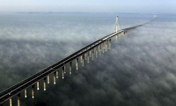 Photo of Міст через затоку Ханчжоувань в Китаї (фото+відео)