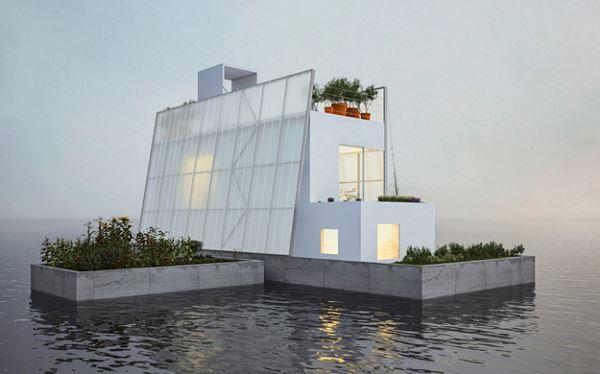 Photo of Плаваючий будинок, як порятунок від сезонних повеней