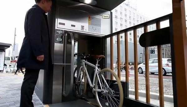 Photo of Велопарковка по-японськи  (відео)