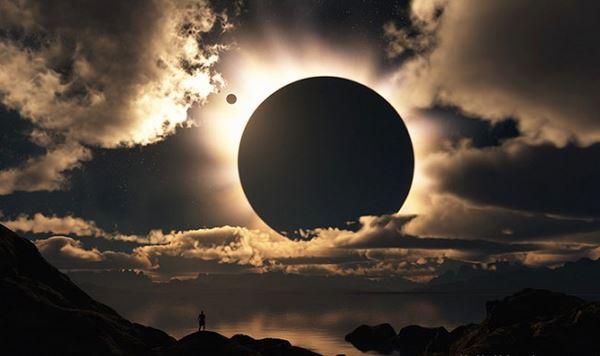 Photo of Повне сонячне затемнення з борту літака (відео)