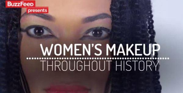 Photo of Як змінювався жіночий макіяж протягом всієї історії (відео)