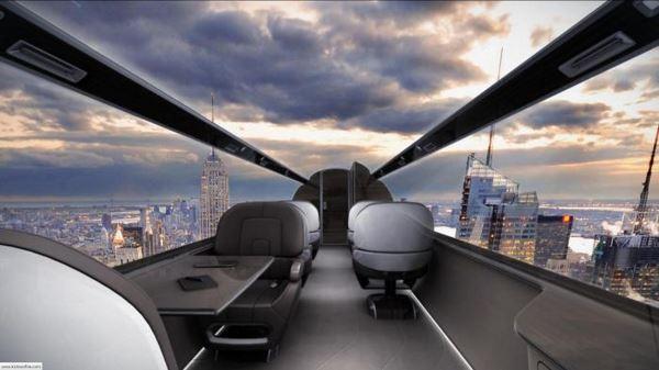 Photo of Концепт літака, в якому немає жодного ілюмінатора