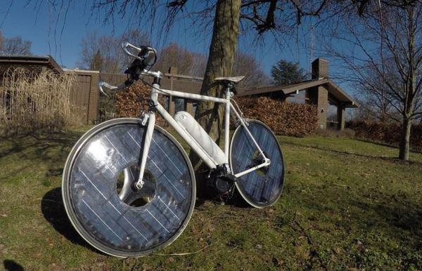 Photo of Гібридний велосипед Solar Bike на сонячних батареях (фото)