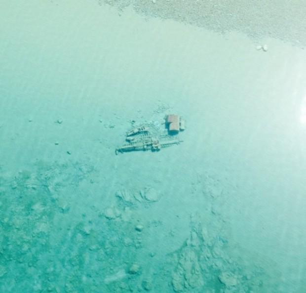 Photo of Озеро Мічиган «показало» затонулі кораблі (фото)