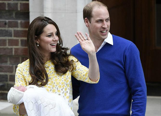 Photo of Новонароджена принцеса герцогині Кейт і принца Вільяма (фото)