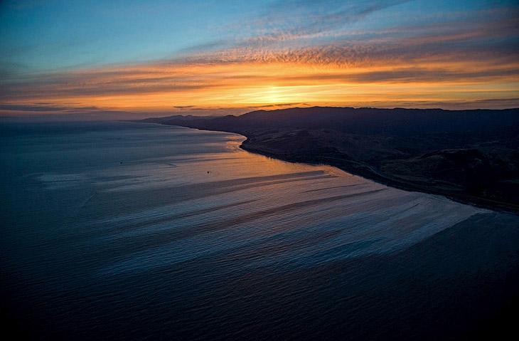 Photo of Витік нафти в Каліфорнії (фото)
