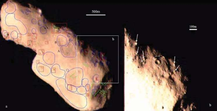 Photo of Вчені вивчають рельєф поверхні астероїда Таутатіс