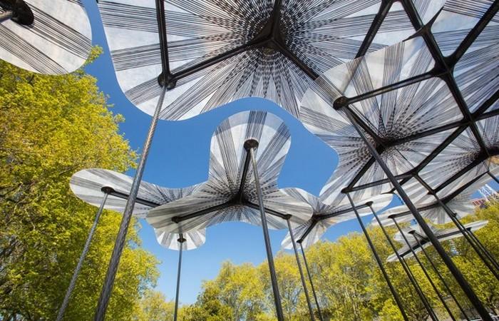 Photo of В Австралії створили незвичайну альтанку, яка поєднує природу і технологію
