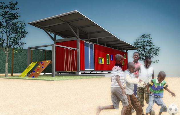 Photo of Школа у контейнері