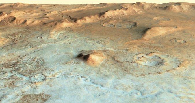 Photo of Знайдено джерело води на Марсі