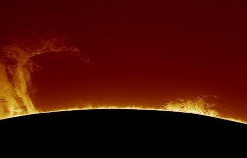 Photo of У Мережі з'явилося фото гігантського протуберанца на Сонці