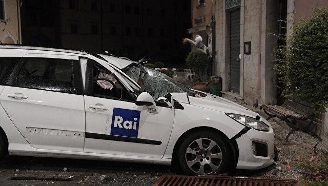 Photo of У центральній Італії стався сильний землетрус