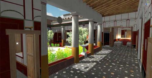 Photo of Віртуальна модель будинку банкіра з Помпеї (відео)