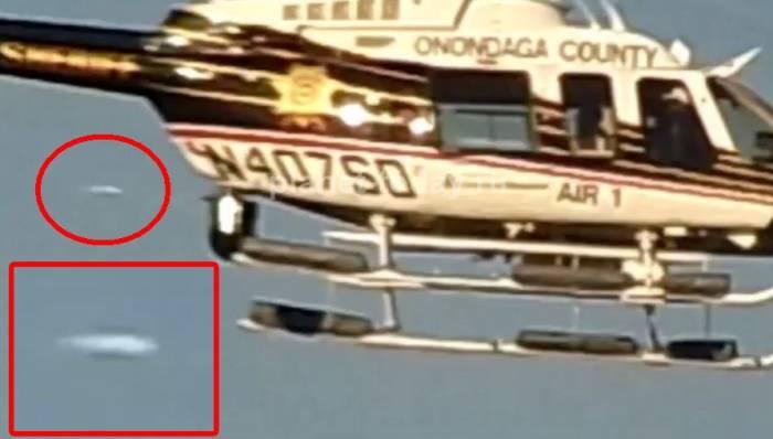 Photo of НЛО переслідував поліцейський вертоліт в США (відео)