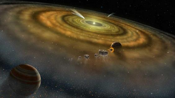 Photo of Народження Землі пов'язане з тимчасовим зростанням яскравості Сонця