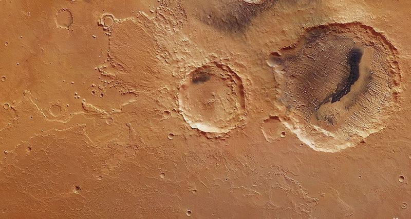 Photo of Історія зіткнення Марса з великим астероїдом