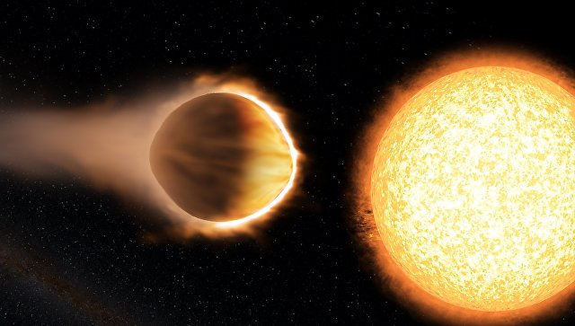 Photo of Виявлена планета, атмосфера якої здатна випарувати залізо