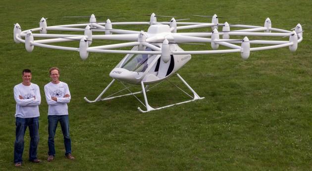 Photo of Daimler вклав $35 млн в літаюче таксі Volocopter