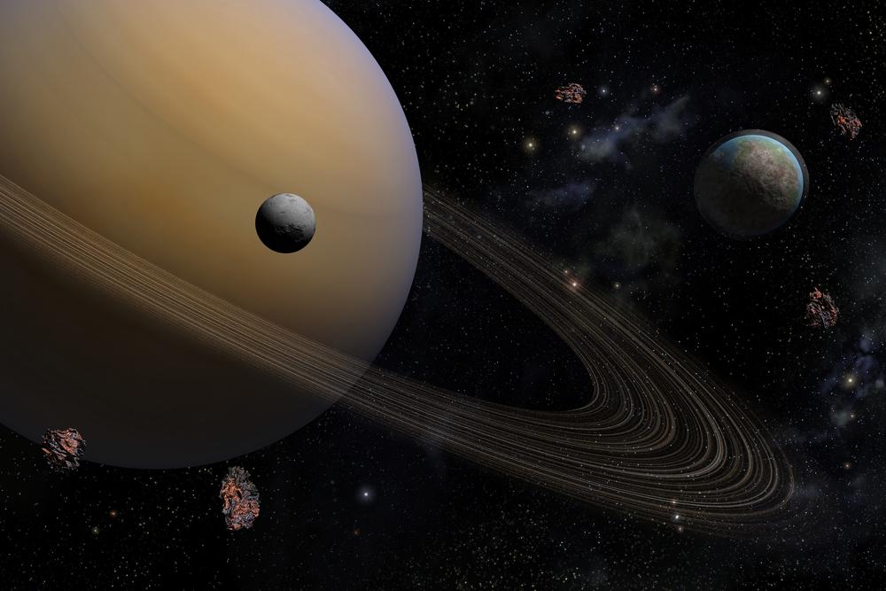 Photo of Cassini сфотографував таємничий об'єкт в кільцях Сатурна