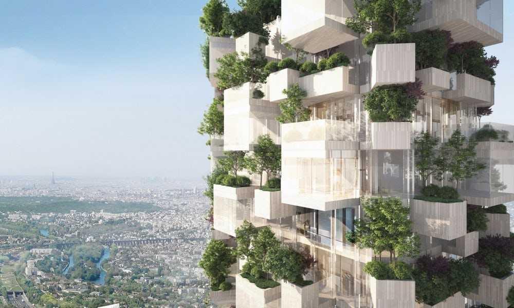 Photo of Представлений проект житлової вежі з вертикальними садами для Парижа