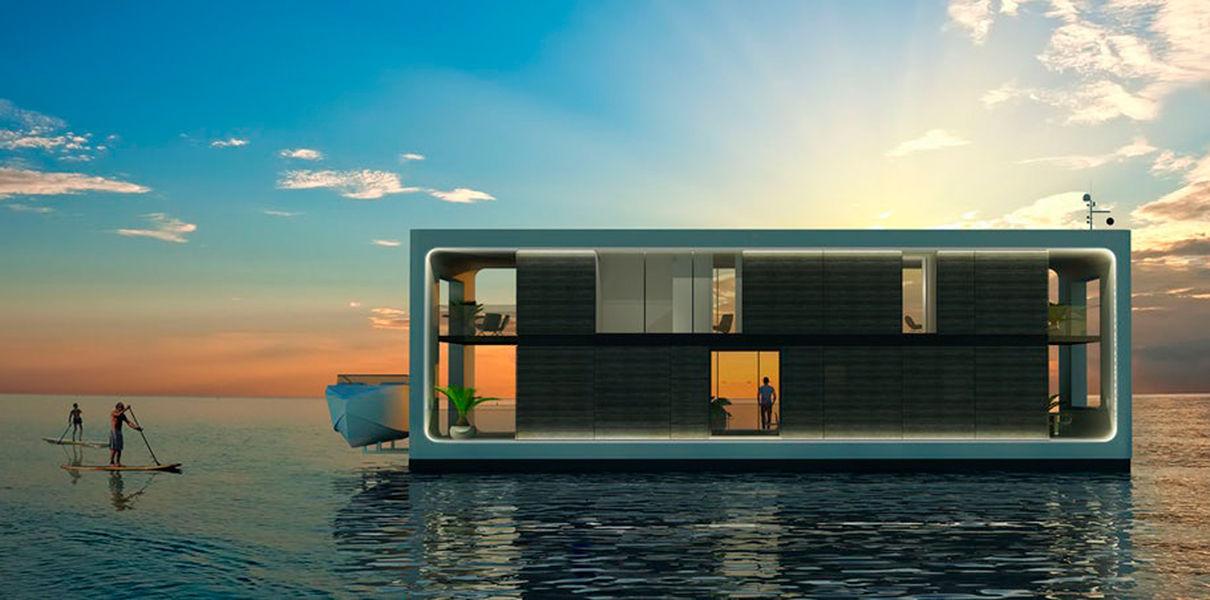 Photo of Представлений концепт повністю автономного плавучого будинку (фото)