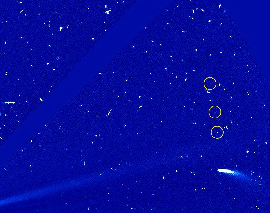 Photo of Комета 96P повертається