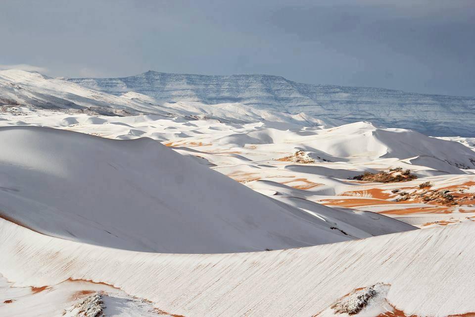 Photo of У Пустелі Сахара випав сніг