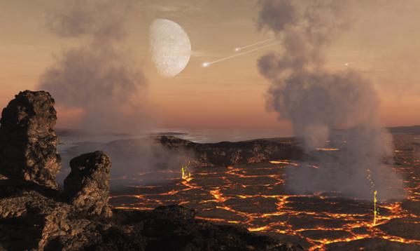 Photo of Вчені: Раннє життя на Землі не було пеклом