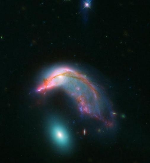 Photo of У NASA опублікували зображення галактик, схожих за формою з пінгвіном