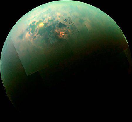 Photo of Вчені відтворили «океан» Титану