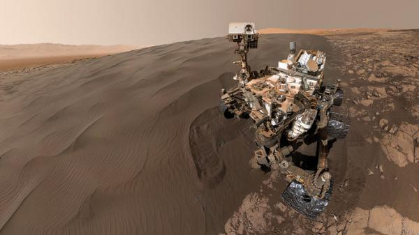 Photo of NASA показало панораму Марса під час посадки Curiosity в 2012 році