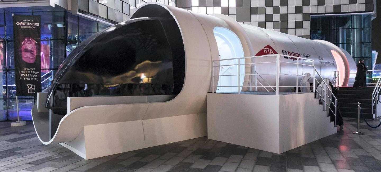 Photo of Нові фото інтер'єру пасажирської капсули поїзда Hyperloop