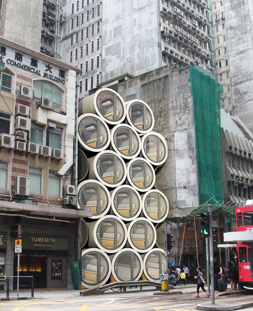 Photo of Мікроапартаменти усередині бетонних труб: незвичайний концепт