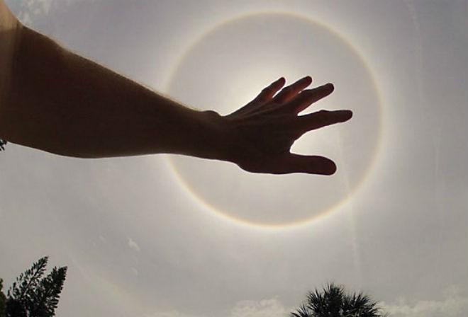 Photo of Дивовижне сонячне гало у Флориді